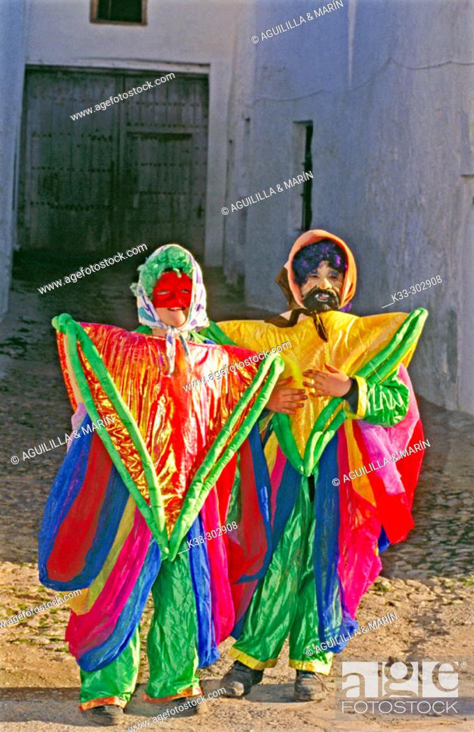 Stock Photo: Carnival. Herencia. Ciudad Real province. Castilla-La Mancha. Spain.