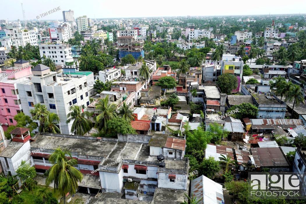 Stock Photo: View on Dhaka, Bangladesh.