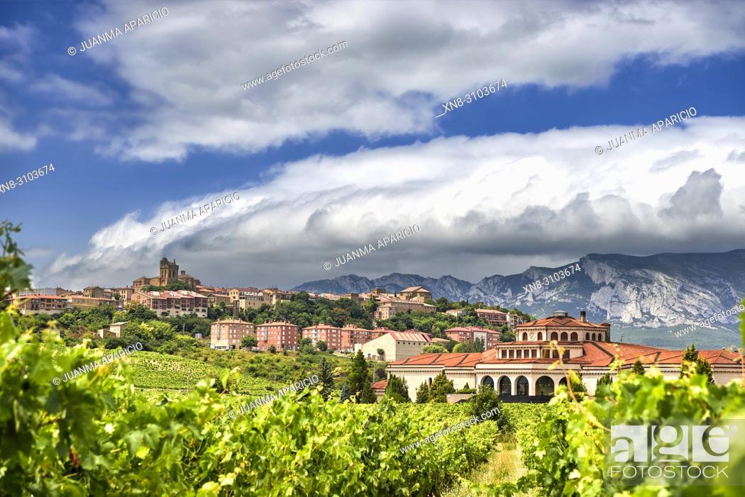 Imagen: Laguardia. Rioja Alavesa. Alava province, Basque Country, Euskadi, Euskal Herria, Spain, Europe.