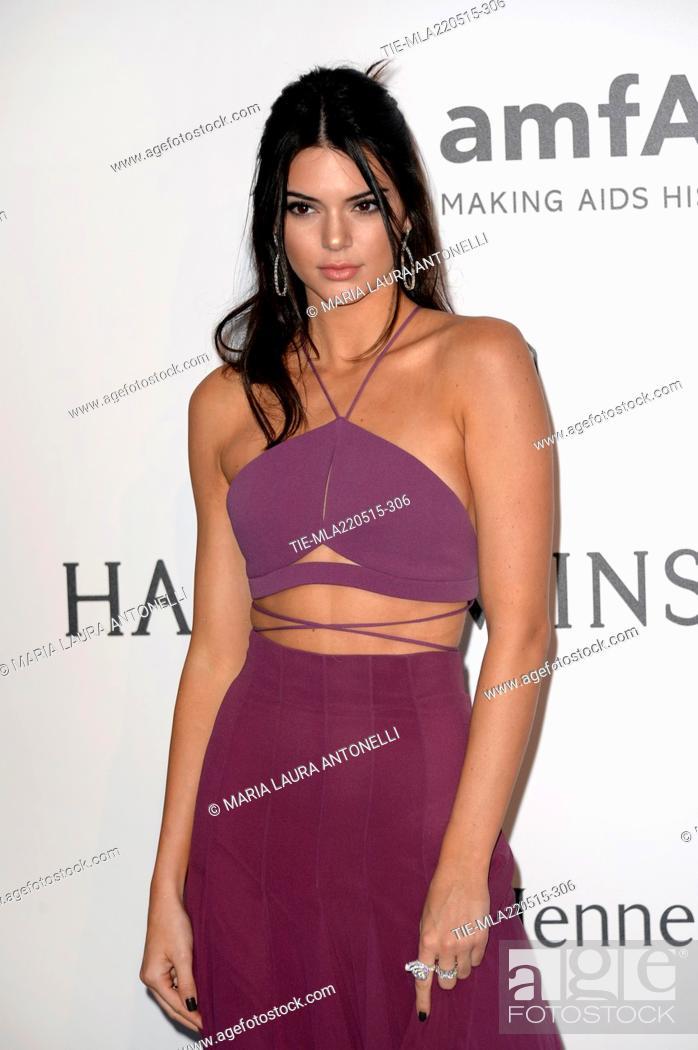f70093bd8 Stock Photo - Kendall Jenner at AmfAR 22nd Cinema agaist AIDS Gala during  the 68th Cannes film festival