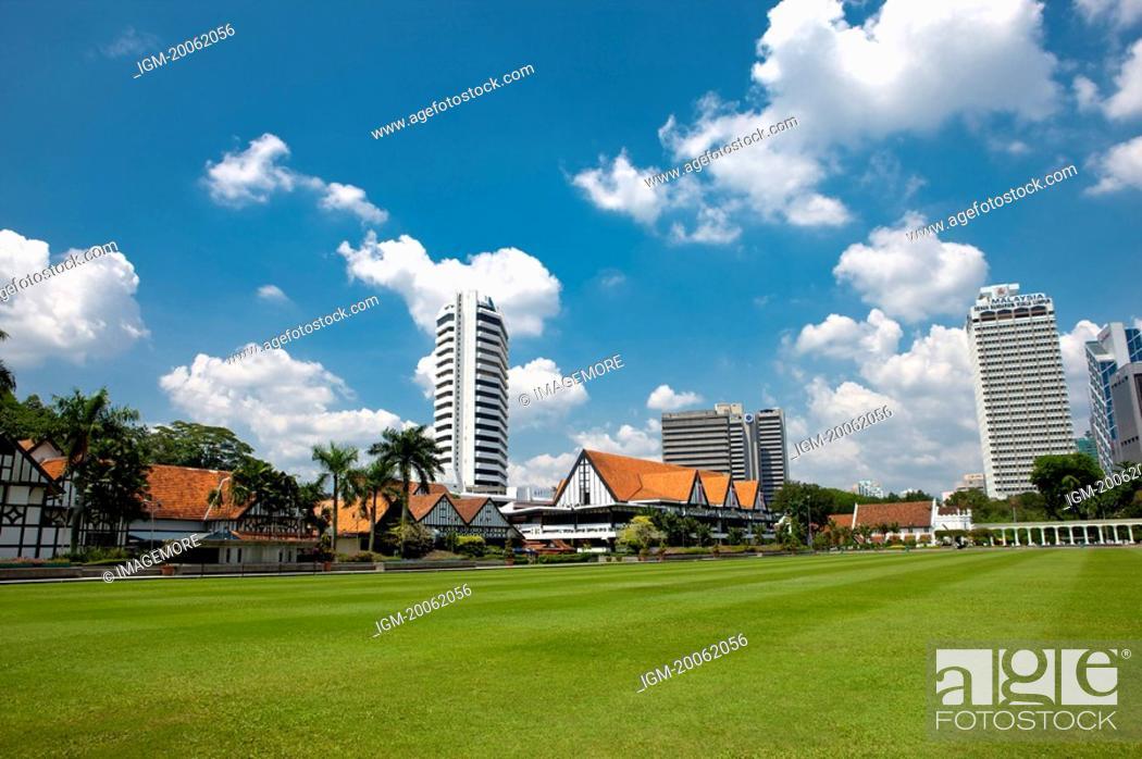 Stock Photo: Malaysia, Kuala Lumpur, Merdeka Square.