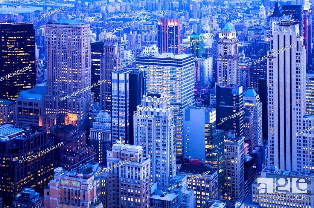Stock Photo: Midtown  New York City, USA.