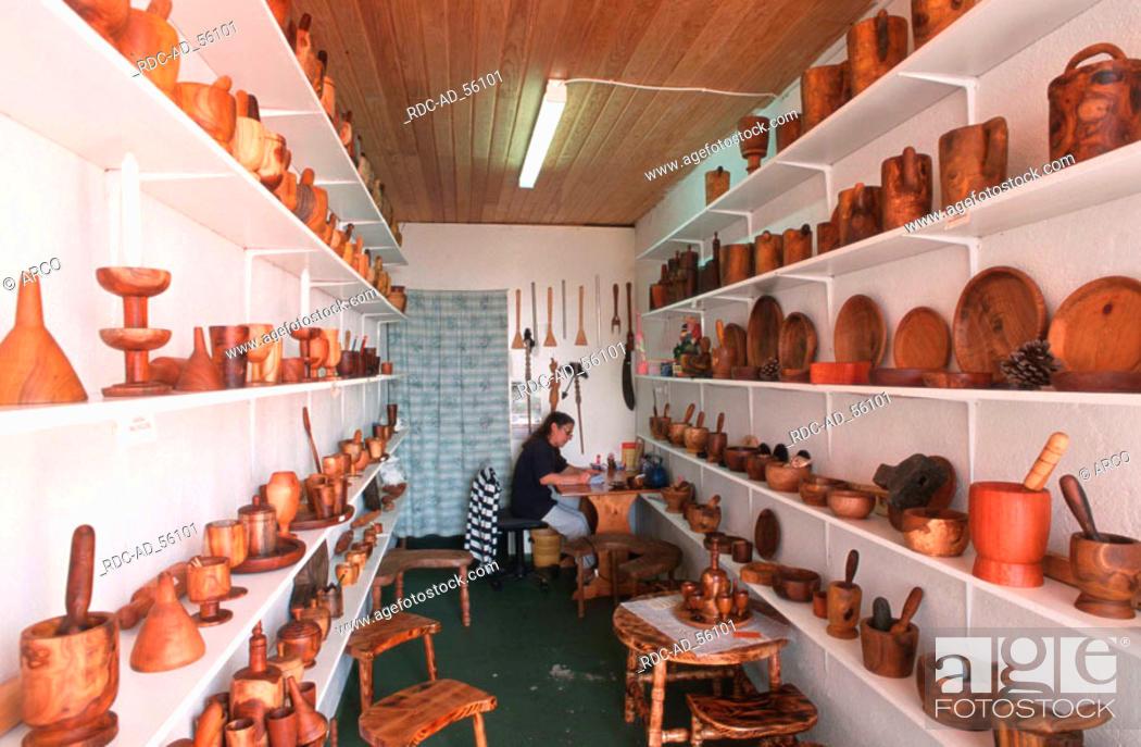 Wooden Arts And Craft Artesania Madera Casa Nicio Tigaday Hierro