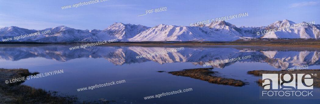 Stock Photo: Eastern Sierra Mountains CA.