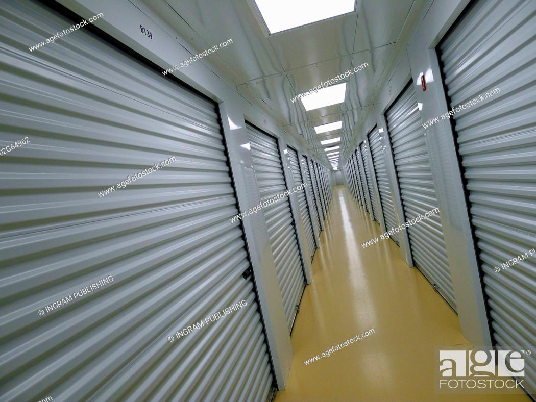 Photo de stock: Private Indoor and Secure Storage Facility.