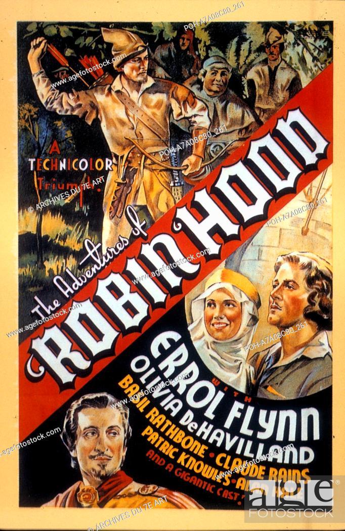 24x36 Adventures of Robin Hood Vintage Movie Poster