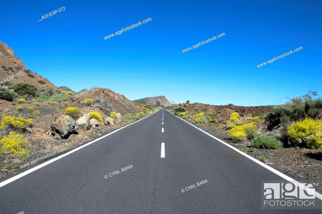 Stock Photo: Spain - Canary Islands - Tenerife - National Park Las Canadas del Teide.