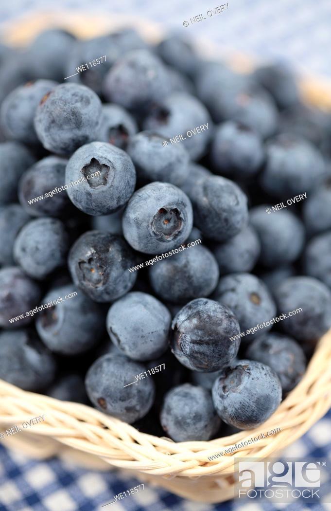 Photo de stock: Blueberries.