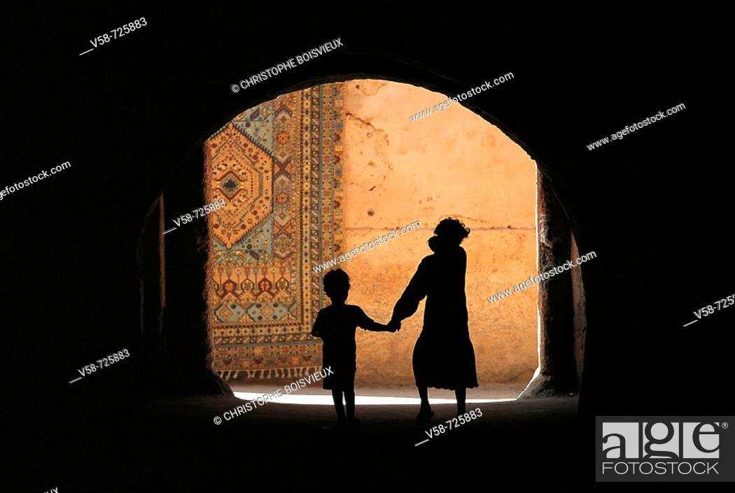 Stock Photo: The souks. Marrakech. Morocco.