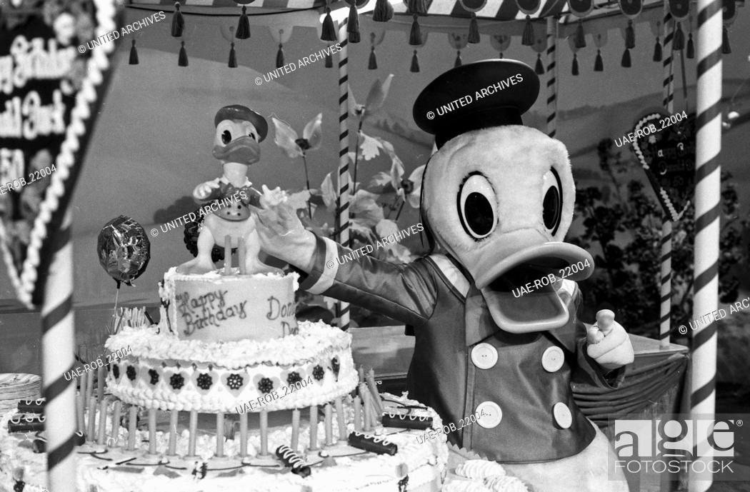Show Zum Geburtstag Von Donald Duck Deutschland 1984 Moderator
