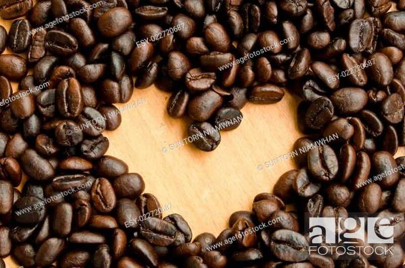 Photo de stock: coffee beans.