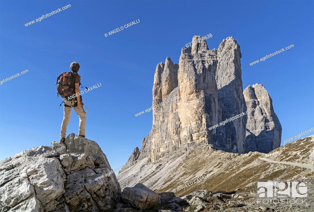 Photo de stock: Italy. Dolomites. Tre Cime di Lavaredo.
