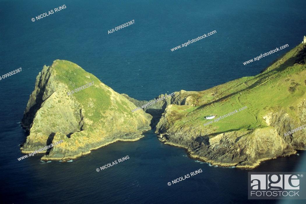Stock Photo: New Zealand - North Island - Northernland - Bay of Islands - Cape Brett.