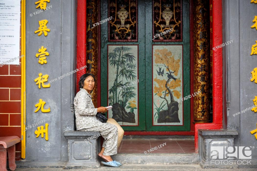 Stock Photo: Ong Temple, Can Tho, Mekong Delta, Vietnam.