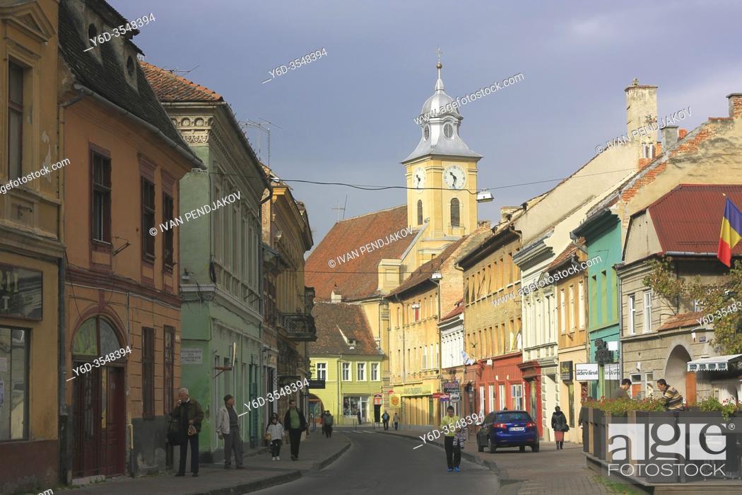 Imagen: Brasov Old Town, Romania.