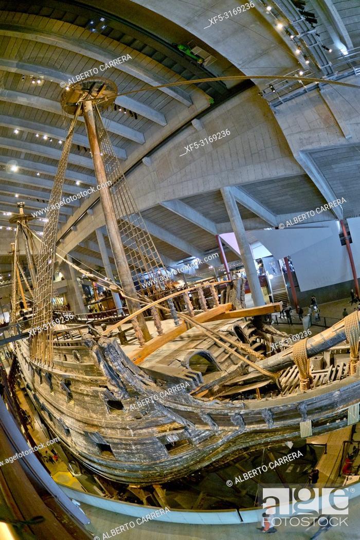 Imagen: Vasa Museum, Stockholm, Sweden, Scandinavia, Europe.