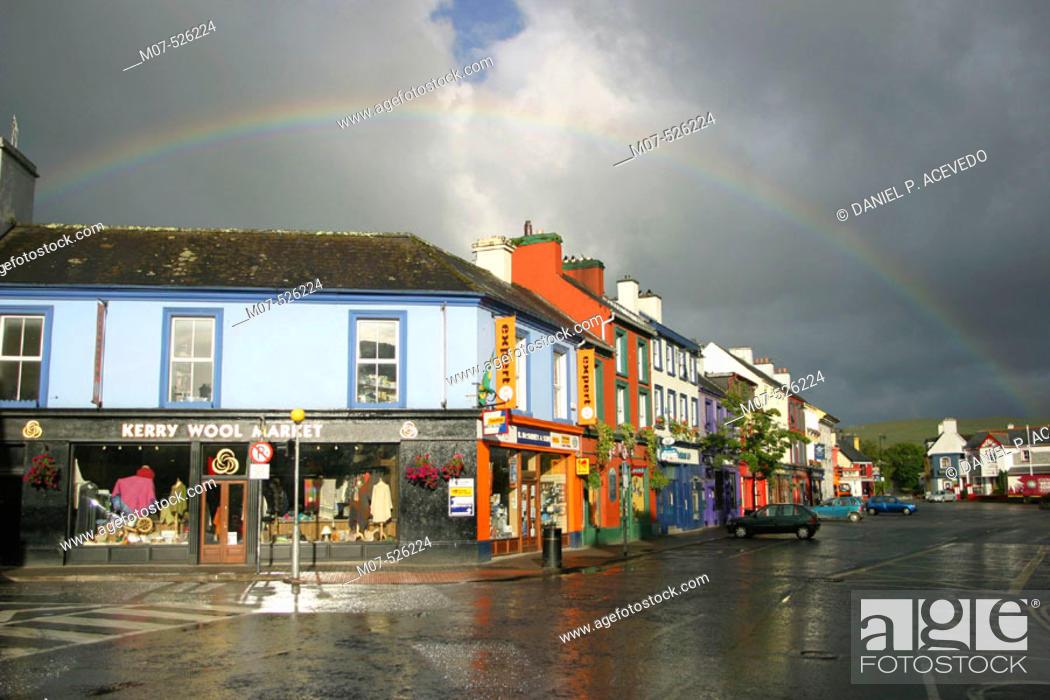 Stock Photo: Kenmare, Co. Kerry, Ireland.