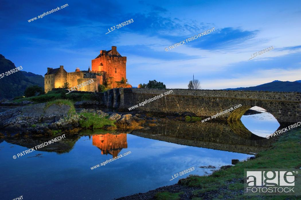 Stock Photo: Eilean Donan Castle, Scotland.