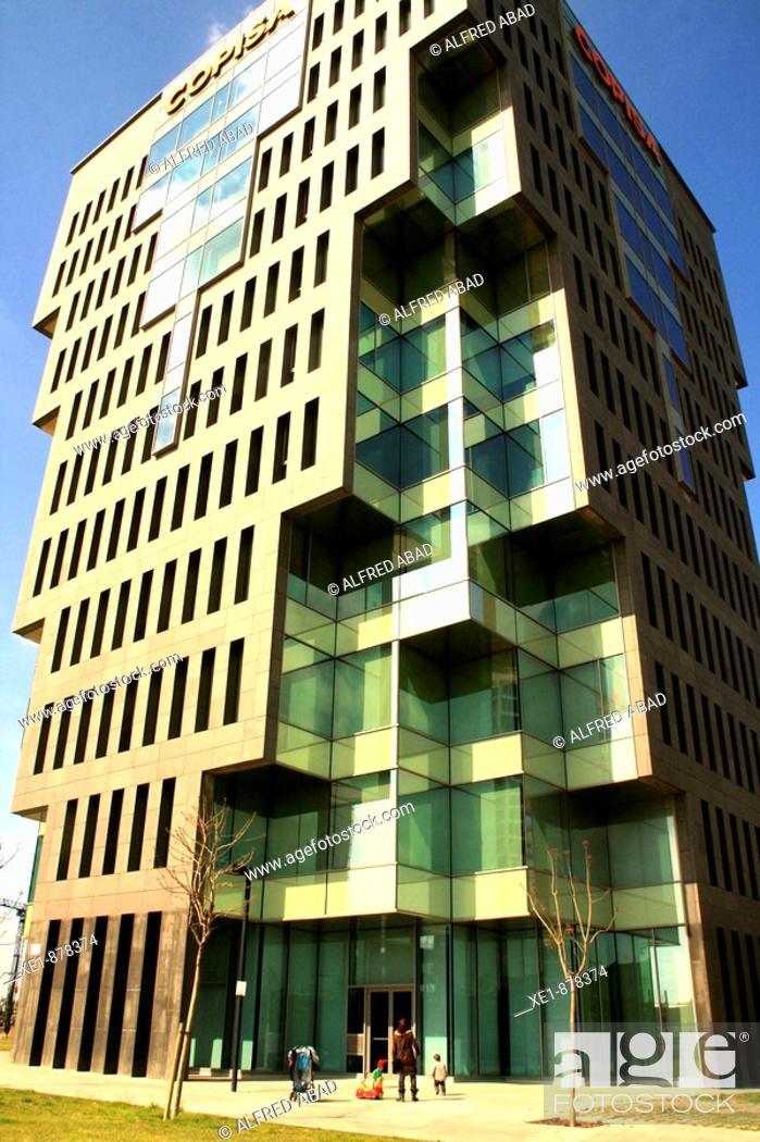 Imagen: Copisa building in Plaça Europa, Hospitalet de Llobregat. Barcelona province, Catalonia, Spain.