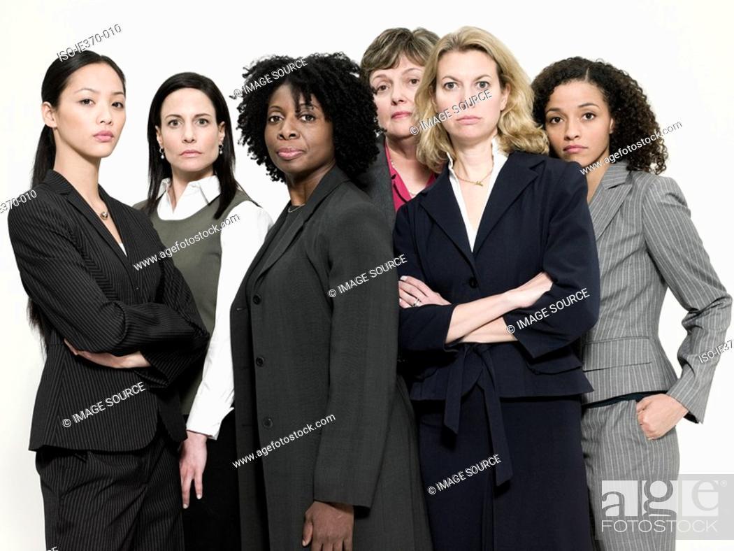 Stock Photo: Businesswomen.