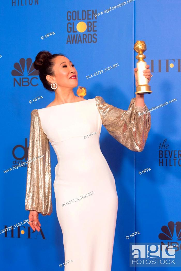"""Imagen: After winning the category of BEST PERFORMANCE BY AN ACTRESS IN A TELEVISION SERIES – DRAMA for her role in """"""""Killing Eve."""