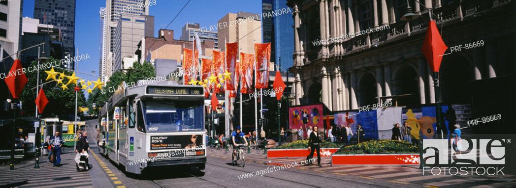 Stock Photo: Melbourne Australia.