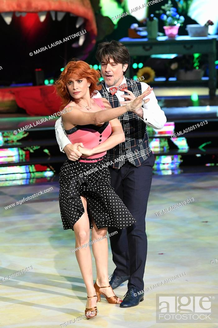 Imagen: Ettore Bassi during the performance at the tv show Ballando con le stelle (Dancing with the stars) Rome, ITALY-04-05-2019.