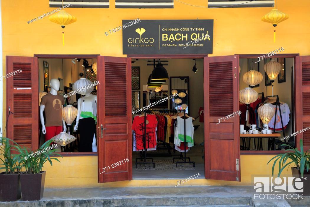 Stock Photo: Shop, Hoy An, Vietnam.