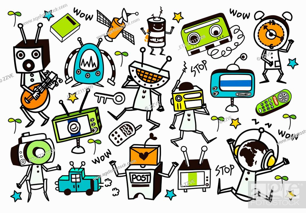 Stock Photo: Close-up of electronics.