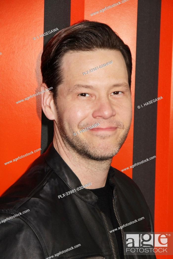 """Stock Photo: Ike Barinholtz 03/09/2020 The Special Screening of """"""""The Hunt"""""""" held at The ArcLight Hollywood in Los Angeles, CA. Photo by I."""