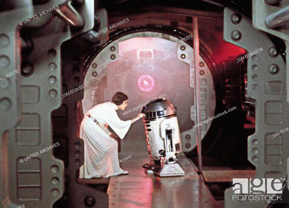 Imagen: Krieg Der Sterne, 1970er, 1970s, Film, R2D2, Roboter, Science Fiction, Star Wars, robot, Krieg Der Sterne, 1970er, 1970s, Film, R2D2, Roboter, Science Fiction.