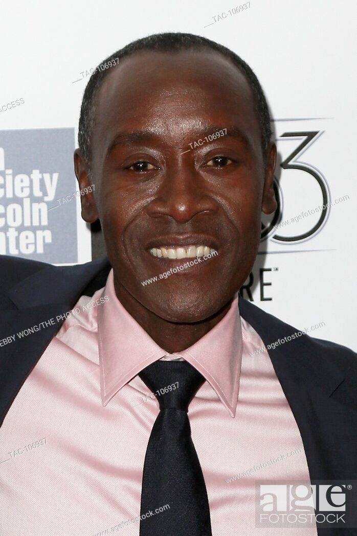 Stock Photo: NEW YORK-OCT 10: Actor Don Cheadle attends the 53rd New York Film Festival - closing night gala presentation and premiere of 'Miles Ahead' at Alice Tully Hall.