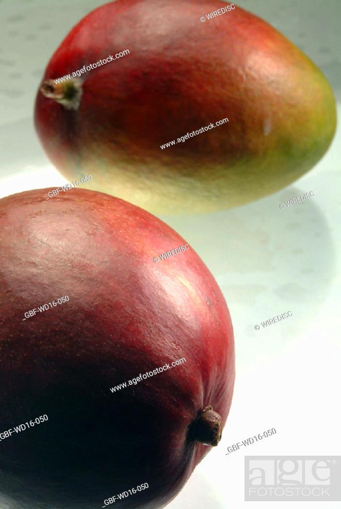Stock Photo: Food, fruit, mango.