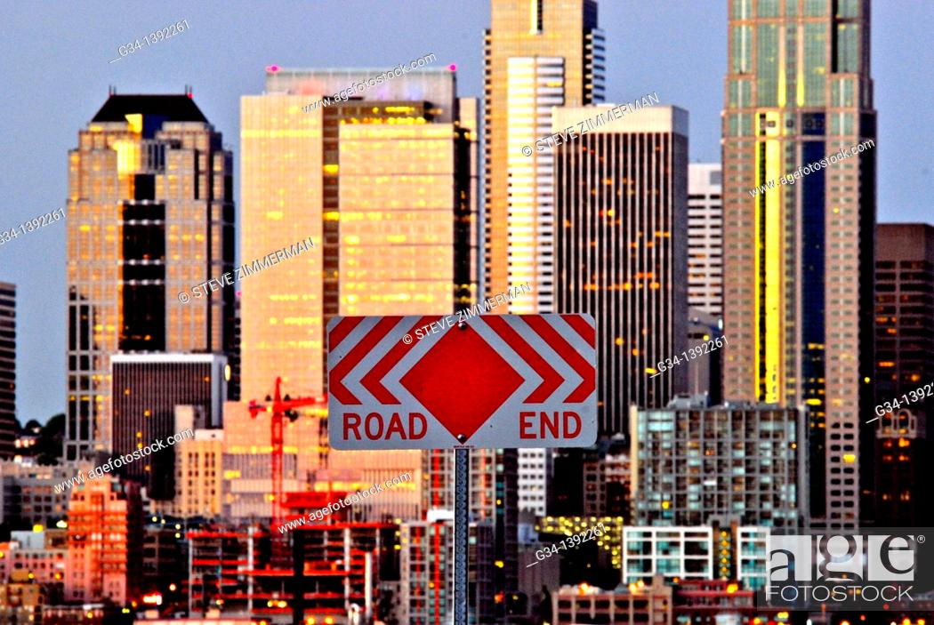 Stock Photo: Seattle Sign.