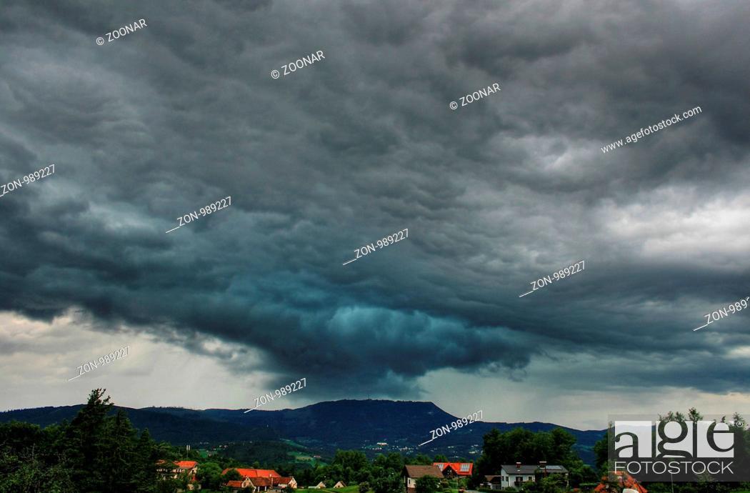 Stock Photo: Storm.