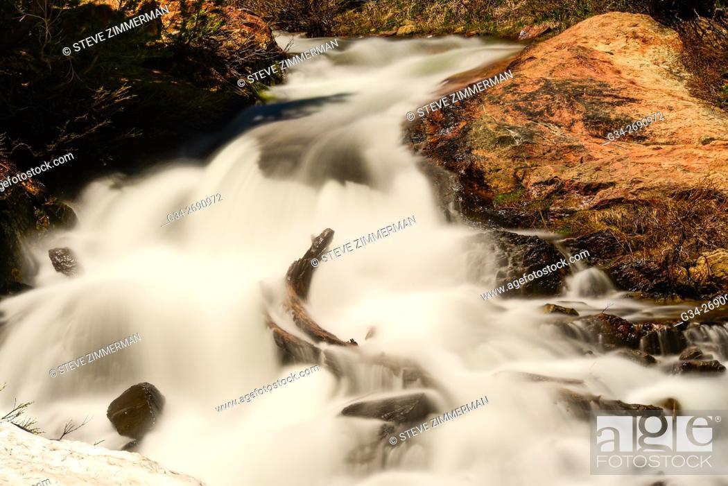 Stock Photo: Slow Flow.
