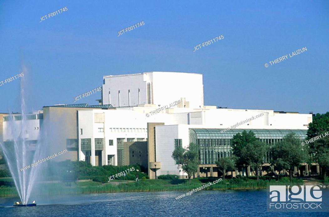 Stock Photo: Finland, Helsinki, Opera house.