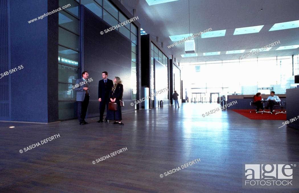 Stock Photo: New Stock Exchange - Frankfurt.Main - Hesse - Germany.