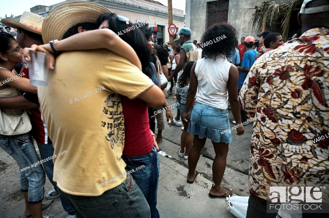 Stock Photo: Santiago carnival. Santiago de Cuba. Cuba.