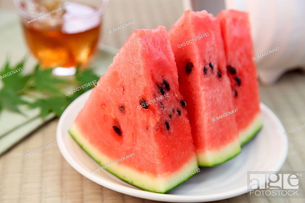 Stock Photo: Sliced Watermelon.