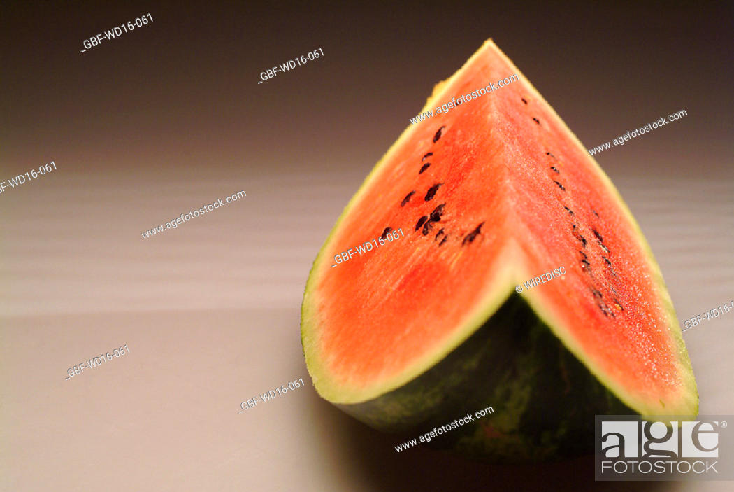 Stock Photo: Food, fruit, watermelon.