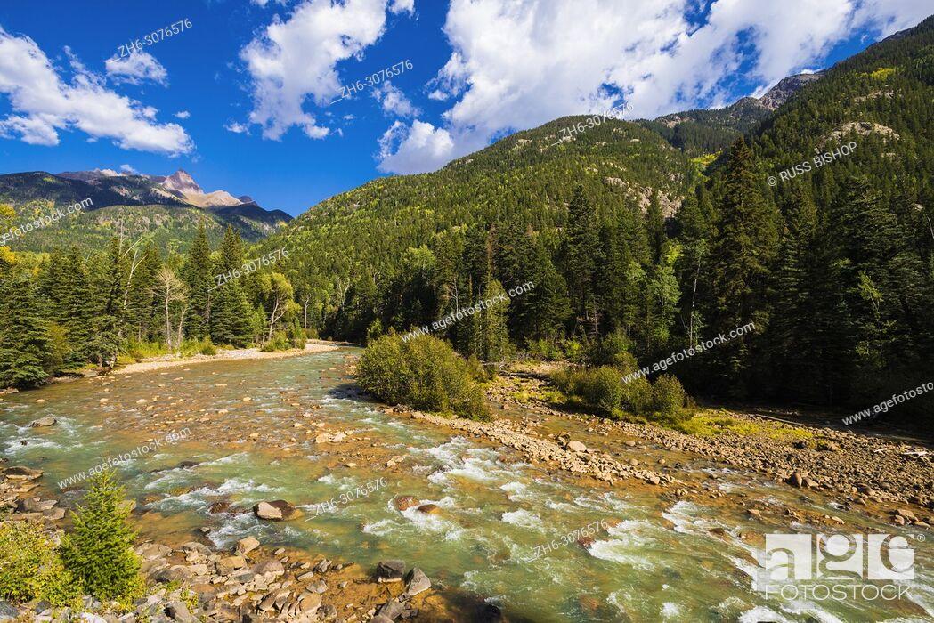 Imagen: The Animas River, San Juan National Forest, Colorado USA.