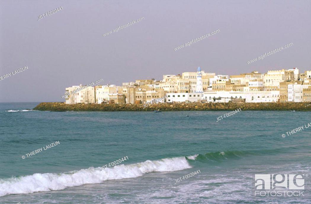 Stock Photo: Yemen, Al Mukalla, view from the coast.