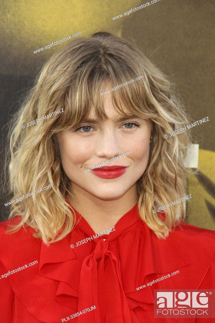 """Stock Photo: Maddie Hasson at Warner Bros. Pictures' """"""""The Kitchen"""""""" Premiere held at the TCL Chinese Theatre, Los Angeles, CA, August 5, 2019."""