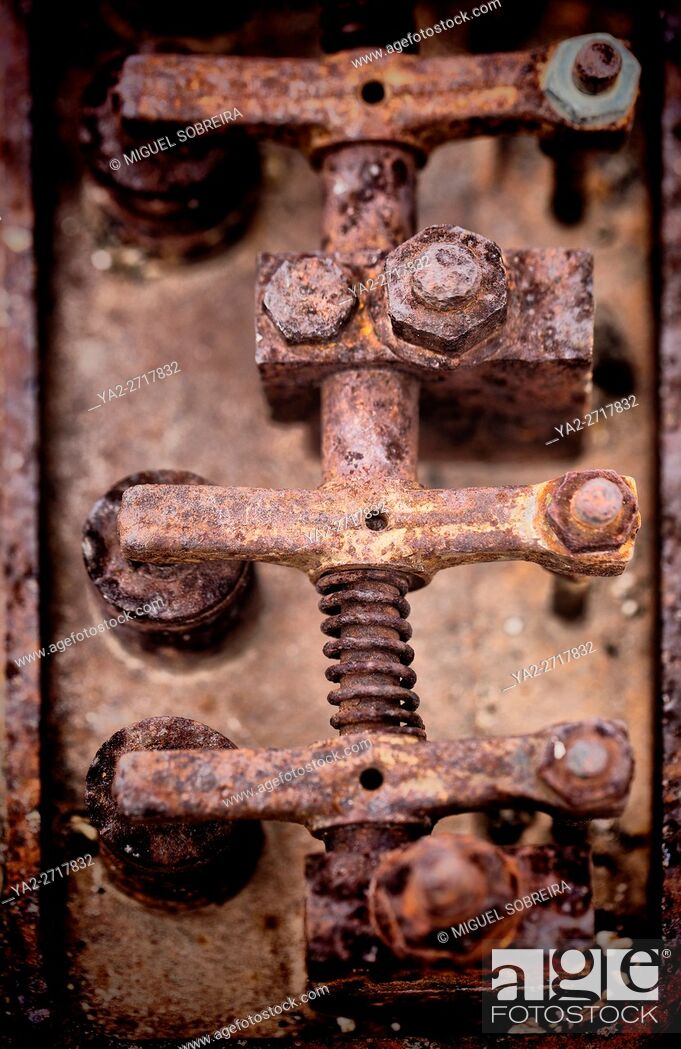 Stock Photo: Rusted Mechanism.