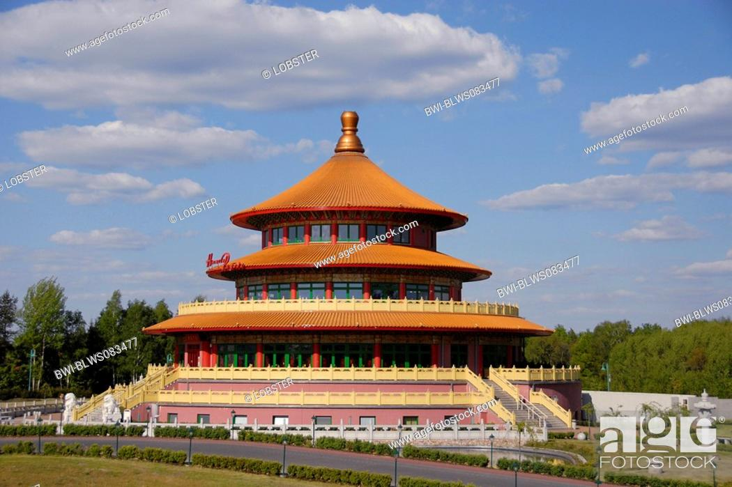 largest Chinese restaurant in Germany, pagoda of heaven