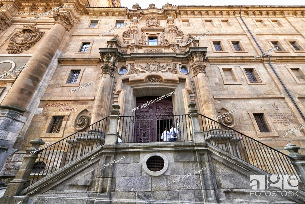 Stock Photo: Iglesia del Espíritu Santo (Clerecía), Salamanca City, Province of SalamancaSpain, Europe.