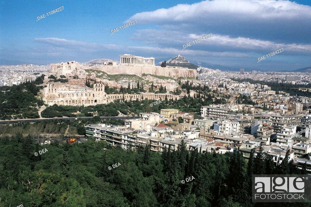 Stock Photo: Greece - Attica - Athens. Acropolis.