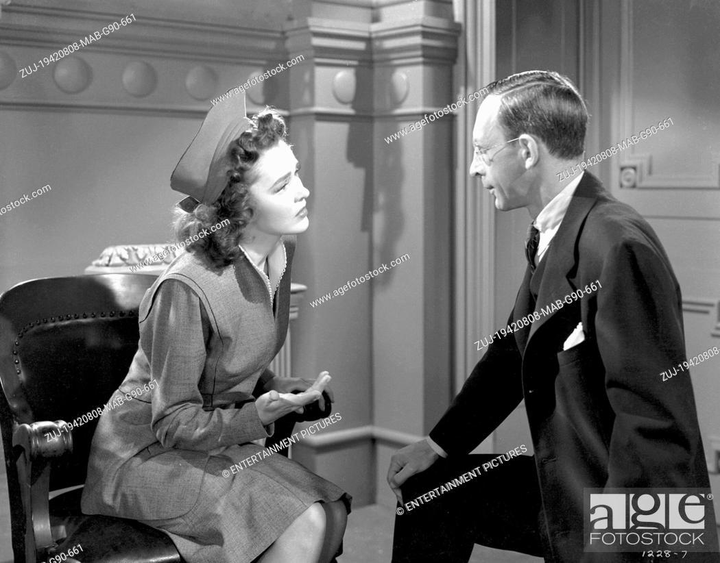Stock Photo: RELEASED: May 1, 1942 - Original Film Title: Tarzan's New York Adventure. PICTURED: Actress MAUREEN O'SULLIVAN stars as Jane.