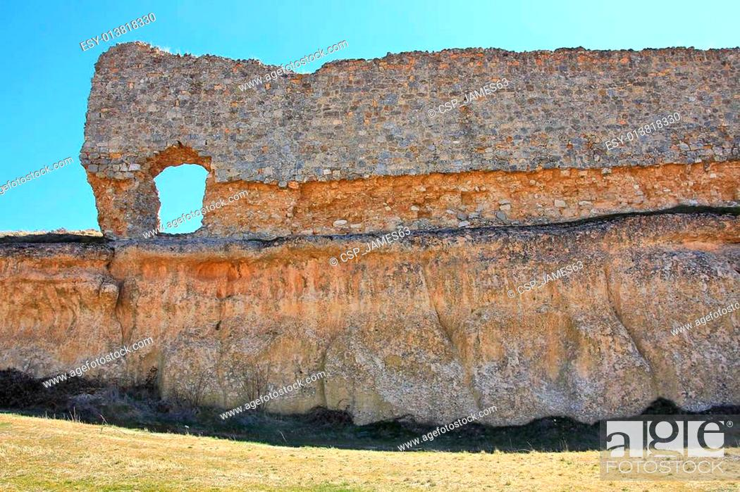 Imagen: Ruins of the castle of San Esteban de Gormaz, Spain.